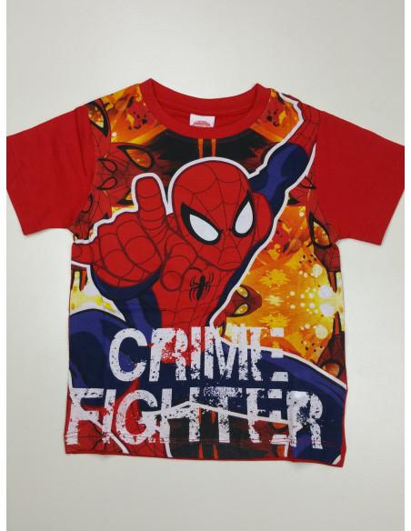 maglietta mezza manica SPIDERMAN bimbo