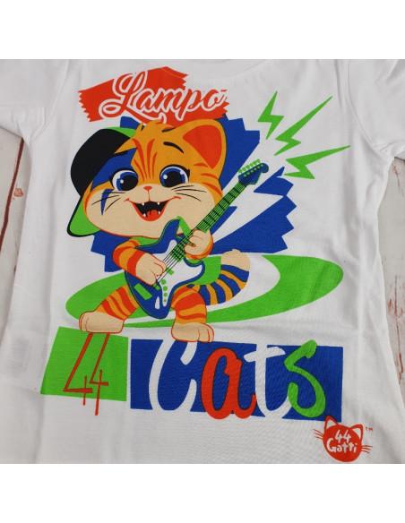 maglia jersey di cotone 44 GATTI bimbo