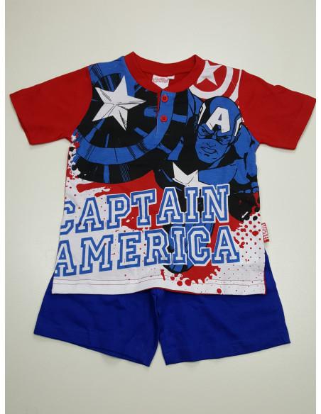 pigiama corto CAPTAIN AMERICA bimbo