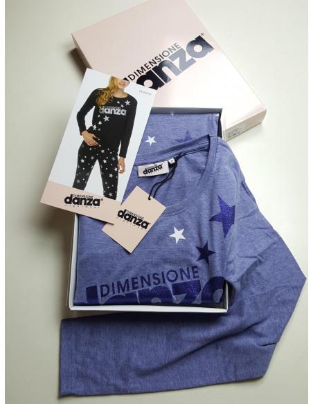 pigiama DIMENSIONE DANZA 100% cotone donna