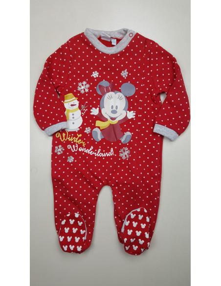 pigiamone felpa invernale neonata